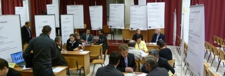 Erste grenzüberschreitende Geschäftskontaktemesse