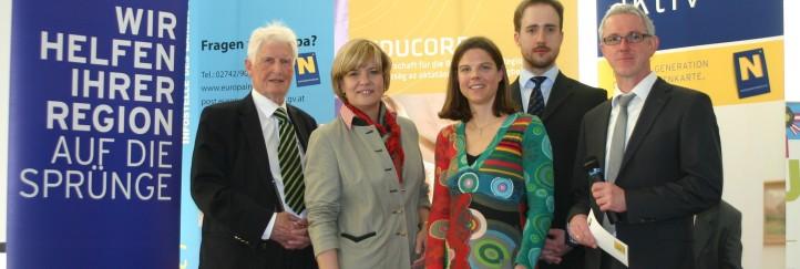 Bürgerpreis 2013 des EU Parlaments geht an das Regionalmanagement NÖ!