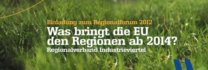 Regionalforum Industrieviertel 2012