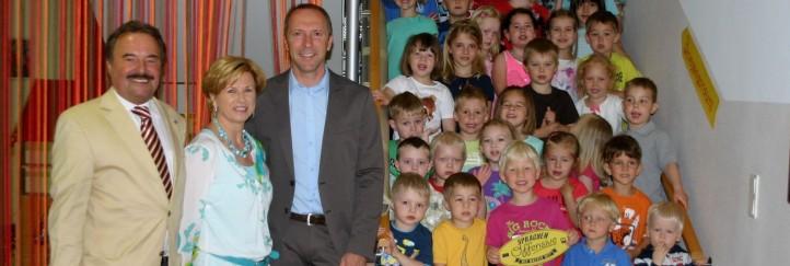 Auszeichnung für im Rahmen der Sprachenoffensive besonders aktive Schulen und Kindergärten