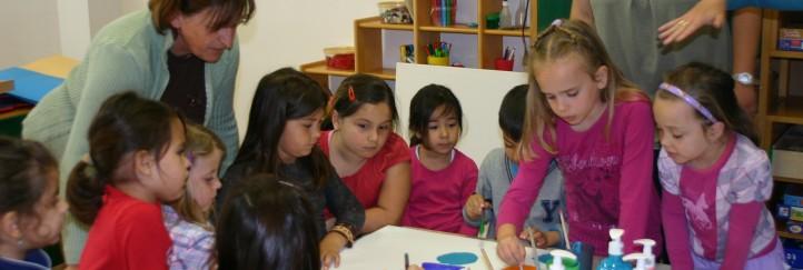 Grenzüberschreitender Kindergartentag