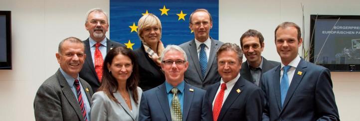 Regionalmanager mit dem Bürgerpreis des Europäischen Parlaments ausgezeichnet