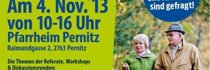"""Einladung zur Fachkonferenz """"Aktiv im demografischen Wandel"""""""
