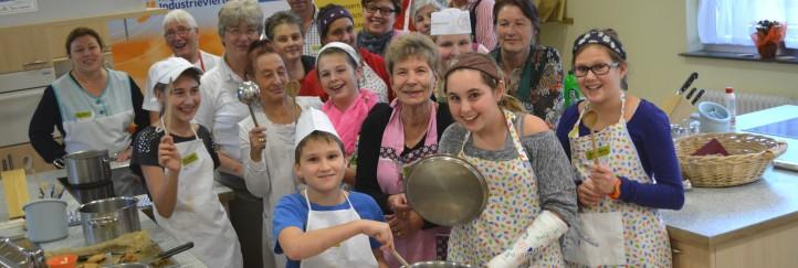 Kochen mit Omi – eine Regionspartnerschaft zum Nachkochen