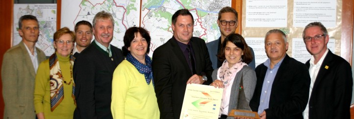Europäische Anerkennung für trilaterale Gemeindekooperation Bratislava-Umland-Management