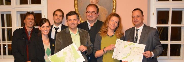Wr. Neustadt & Umland: 1. Regionales RADLgrundnetz in Niederösterreich entsteht
