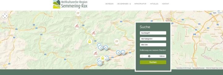 Neuer Internetauftritt der Region Semmering-Rax