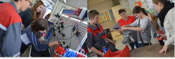Praxis-Check soll für weiblichen Fachkräfte-Nachwuchs in technischen Berufen sorgen